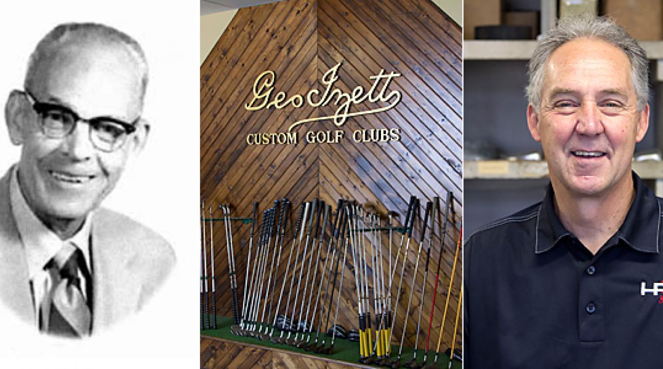 Left: George Izett Sr.; Center: Inside the Izett Shop; Right: George Izett Jr.