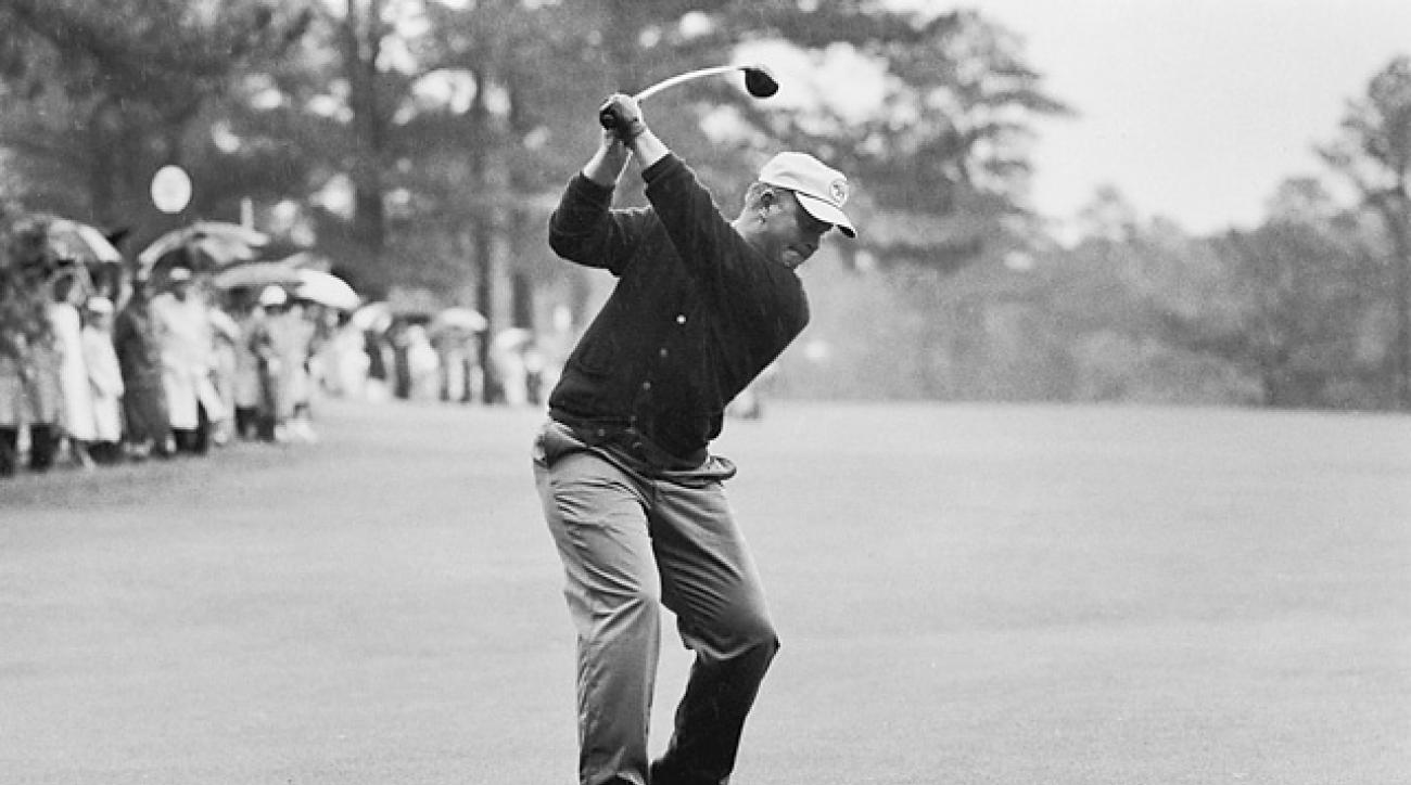 Towering tee shots helped the young Bear grab his first coat at Augusta National.