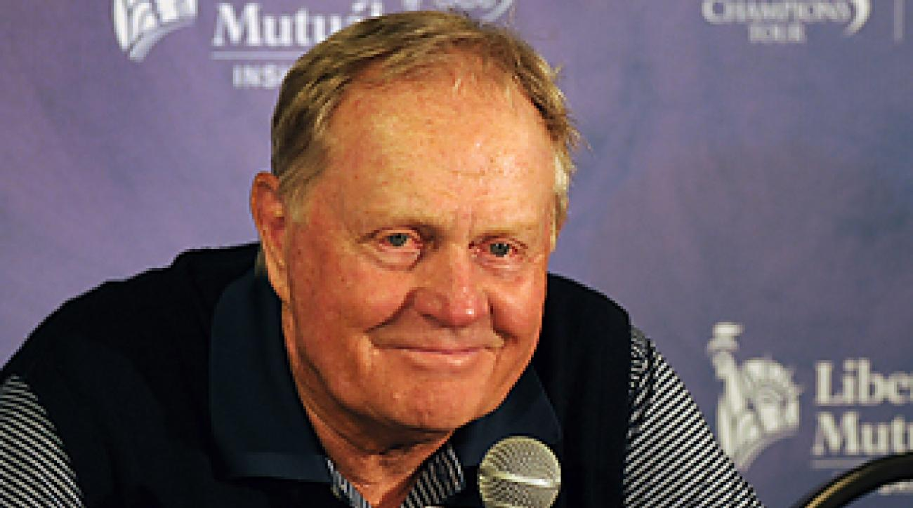 Nicklaus is the host of this week's Memorial Tournament.