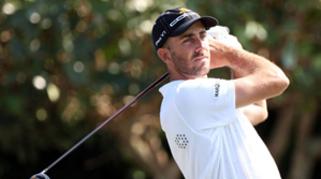 Geoff Ogilvy shot a bogey-free 65 for a six-shot lead heading into the final round.