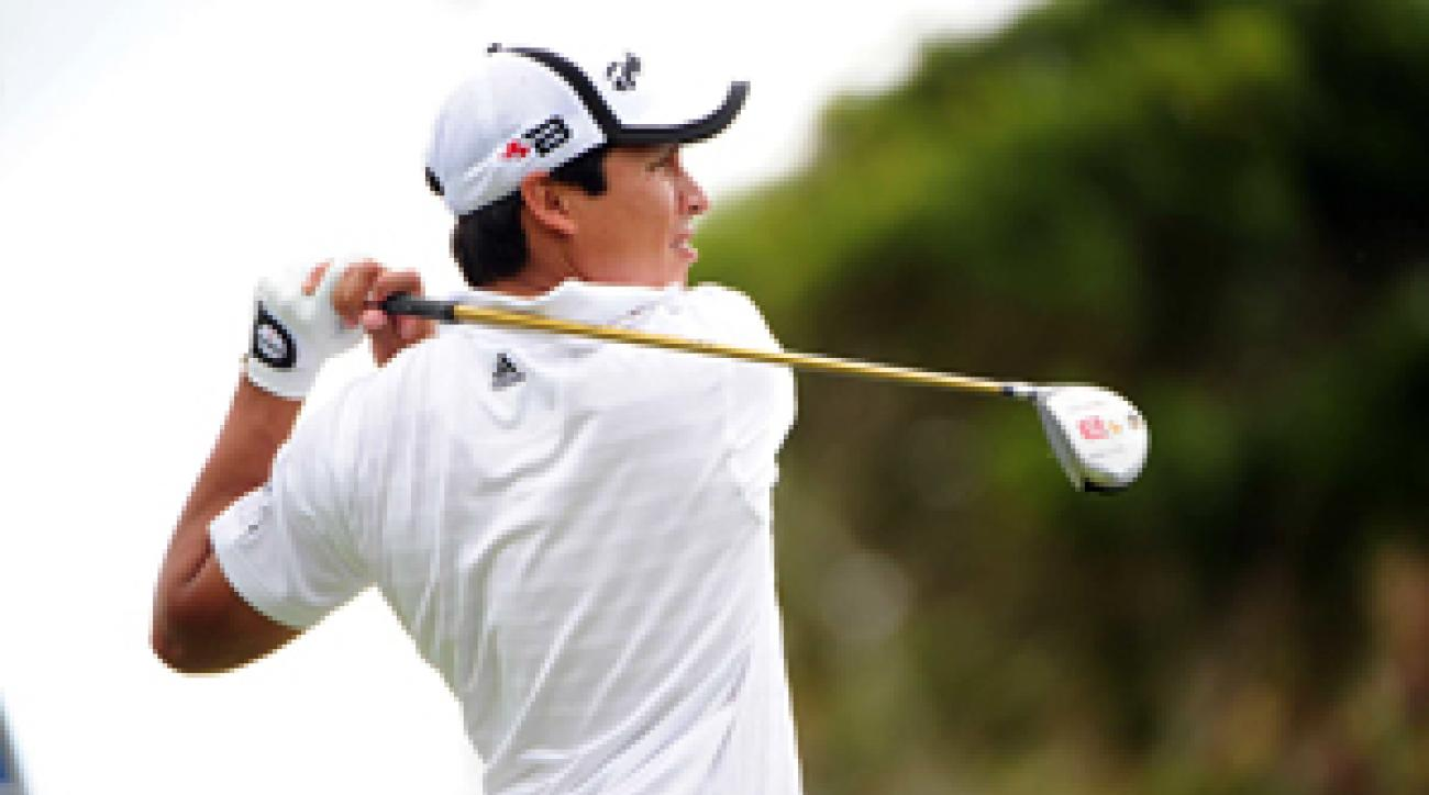 Andres Romero was the PGA Tour rookie of the year in 2008.