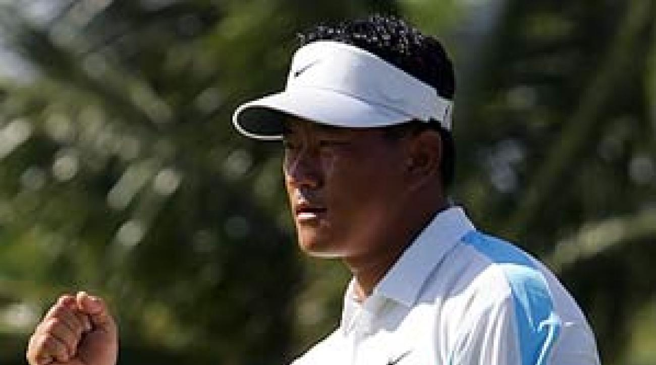 K.J. Choi birdied his final hole on Sunday.