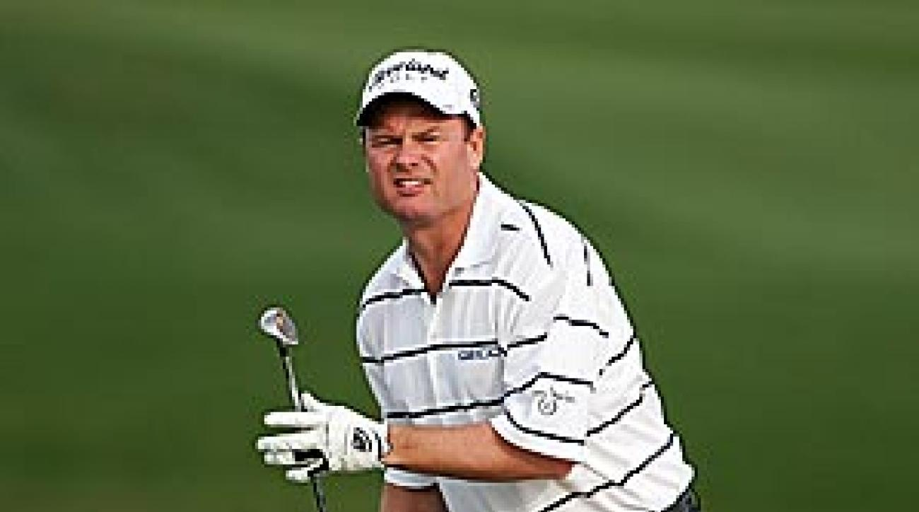 Joe Durant, who won the 2001 Hope in record fashion, had a pair of eagles on the opening day of the 90-hole tournament.