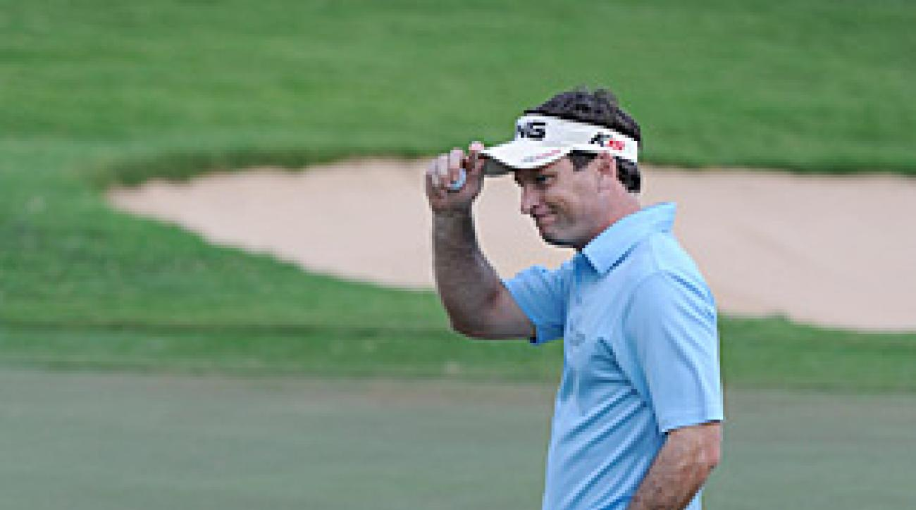 Wilson hit a 12-footer for par on the 17th hole of the final round to maintain his lead.