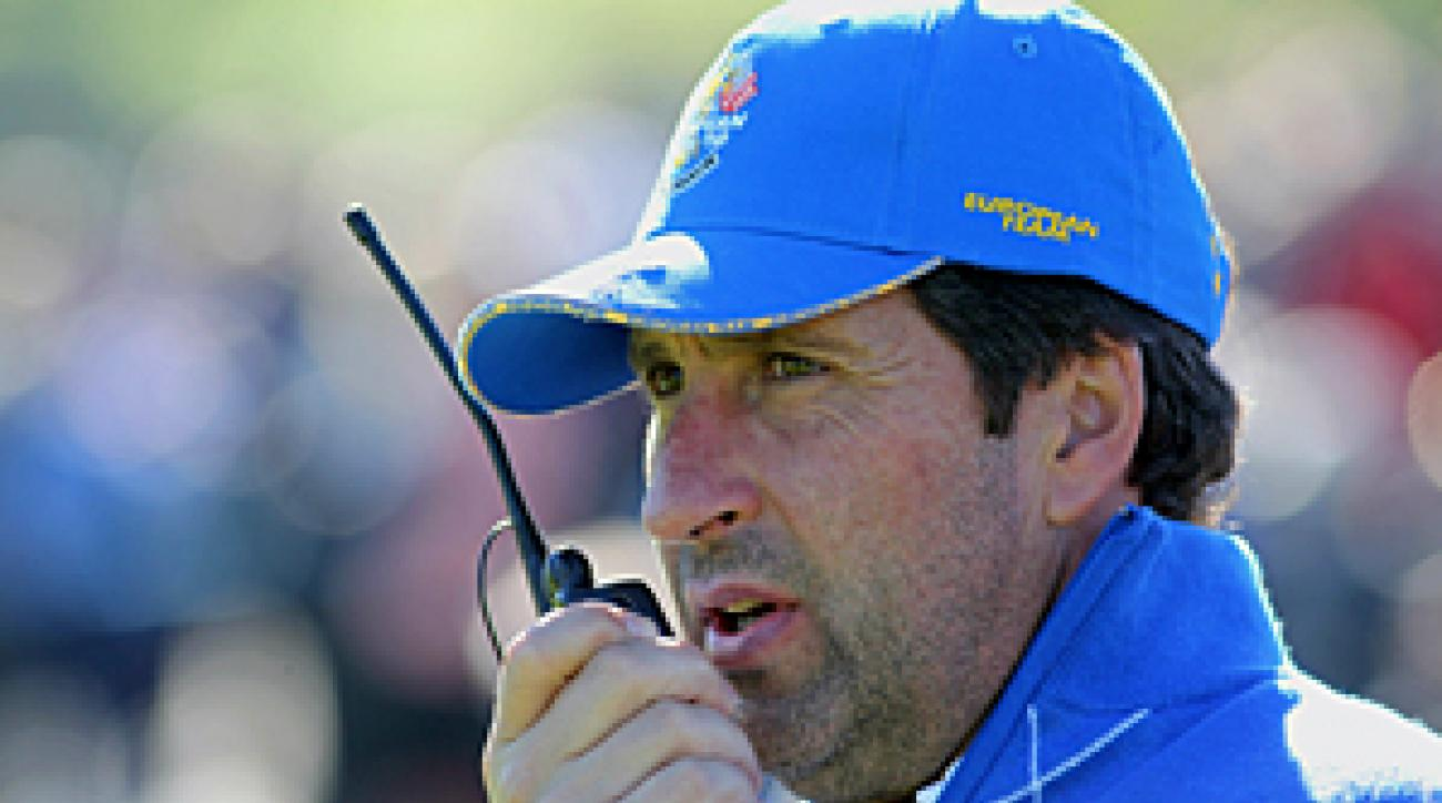 Jose Maria Olazabal was a vice captain for the 2008 and 2010 European Ryder Cup teams.