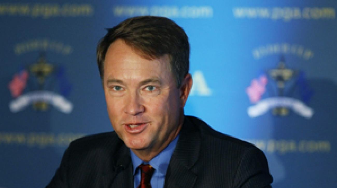 Davis Love III had a 9-12-5 career record in the Ryder Cup.