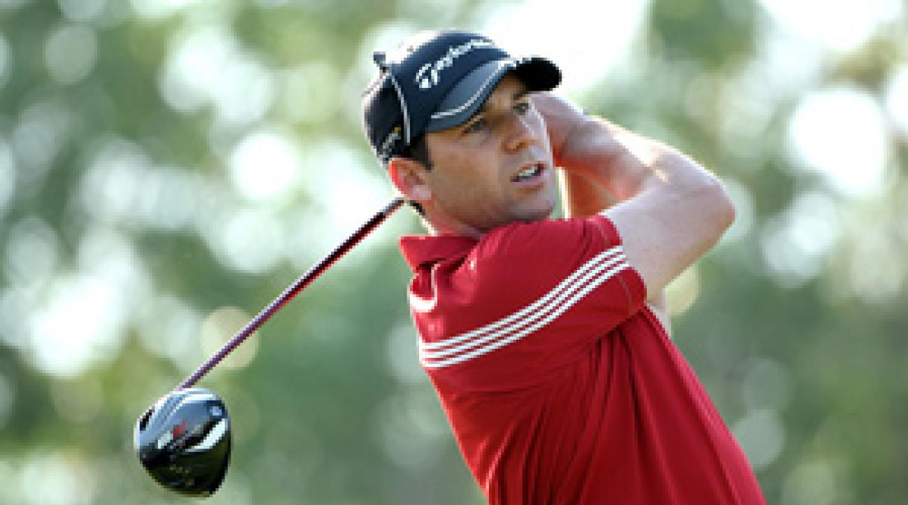 Sergio Garcia made six birdies and a bogey on Friday.