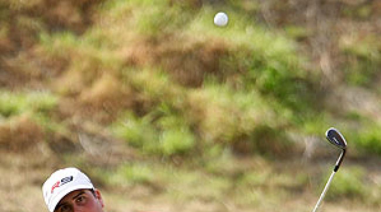 Pat Perez shot a 9-under 63 on Thursday.