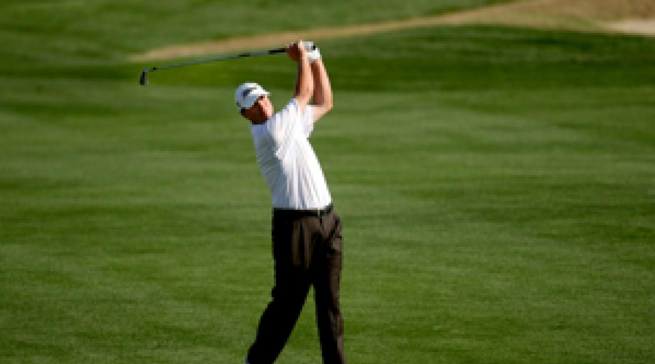 Steve Stricker made 10 birdies on Saturday.