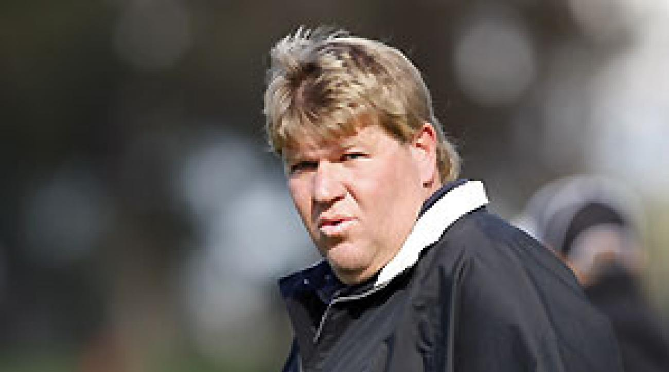 John Daly missed the cut at the Buick after rounds of 77-76.