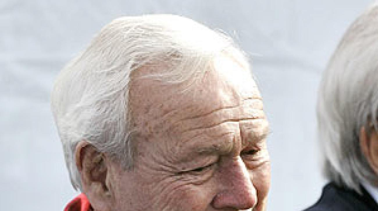 Arnold Palmer hosted the 50th Bob Hope Classic.