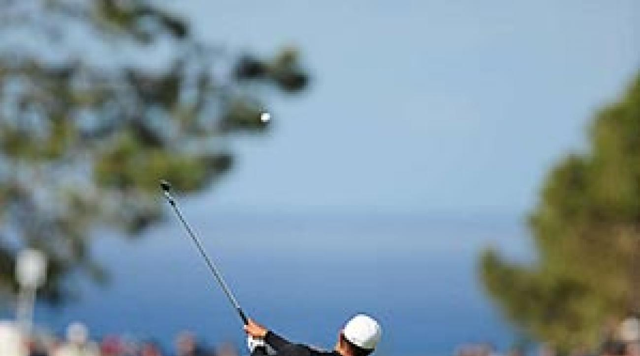 """""""Shooting 67 is always going to feel pretty good on the South Course,"""" Woods said."""
