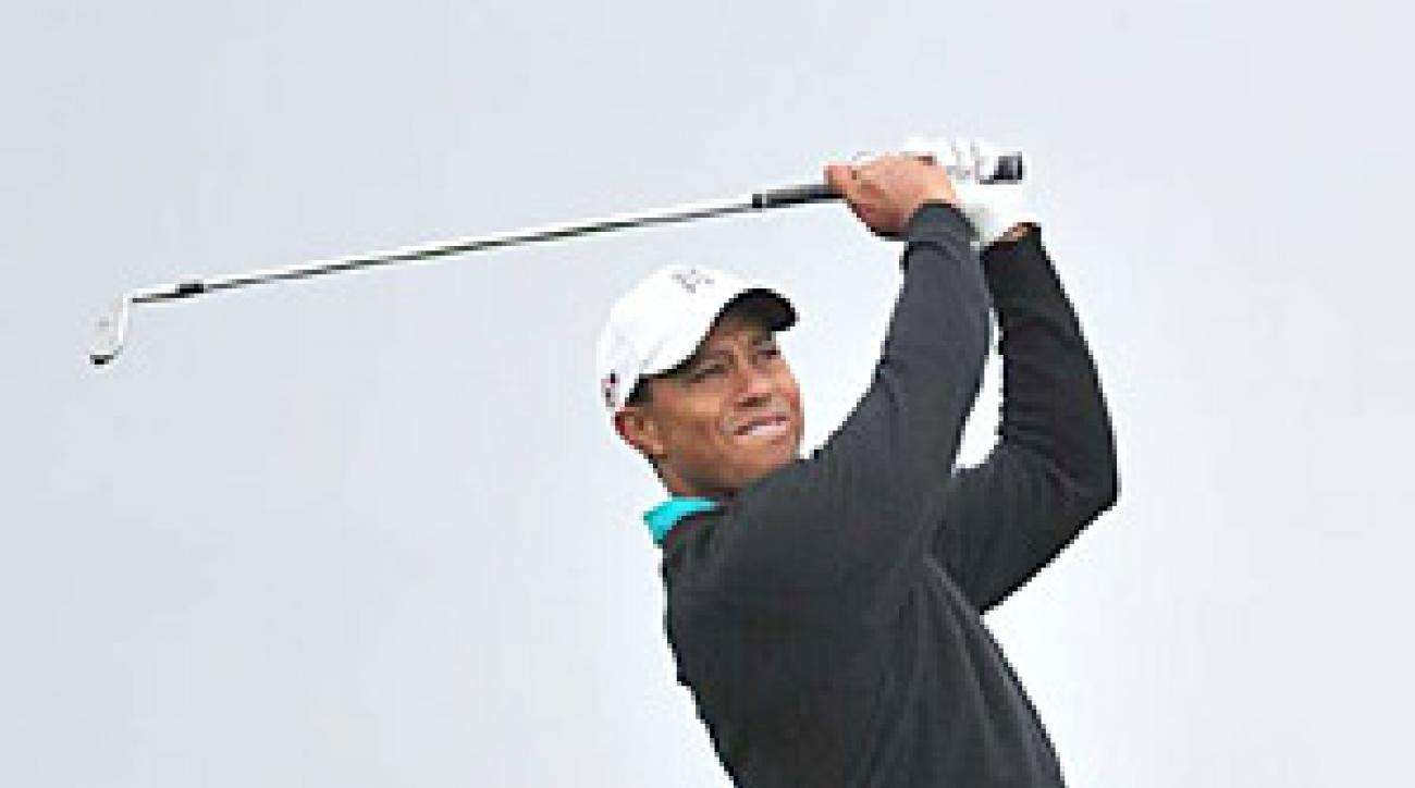 Tiger Woods has not won a major since the 2008 U.S. Open at Torrey Pines.