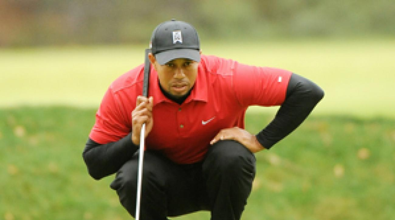 Tiger Woods hasn't played in a tournament since losing to Graeme McDowell in a playoff at the Chevron World Challenge in December.