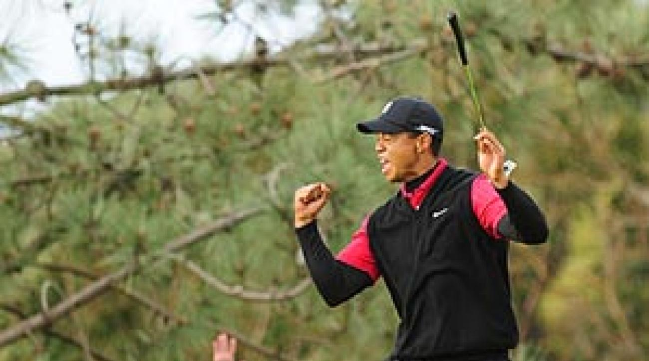 """I knew that I could attain another level,"" Woods said, ""and here we are."""