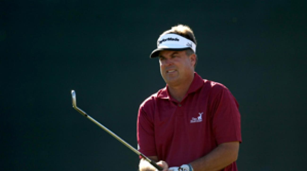 Kenny Perry will try to win his 13th PGA Tour title on Sunday.