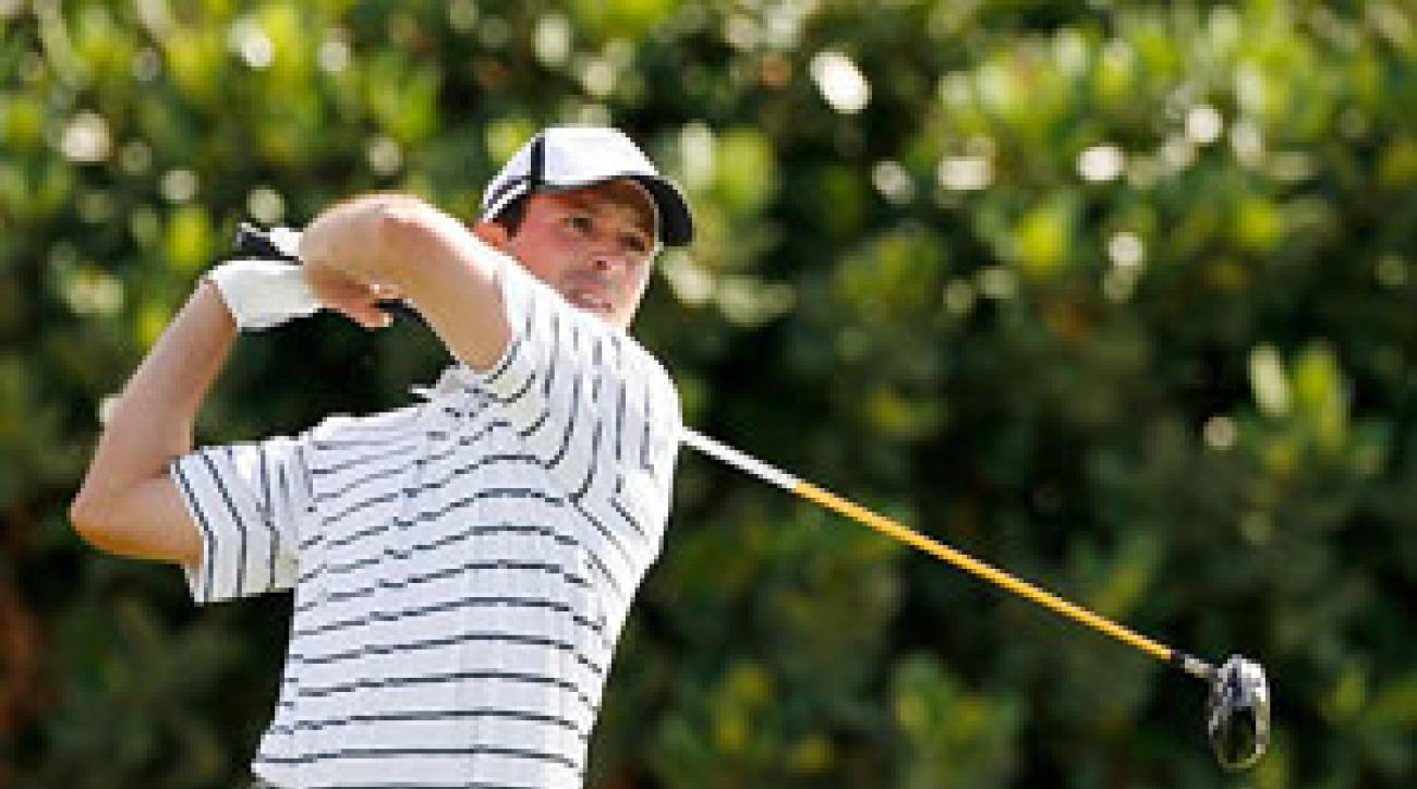 Mike Weir made four birdies and an eagle on Friday.