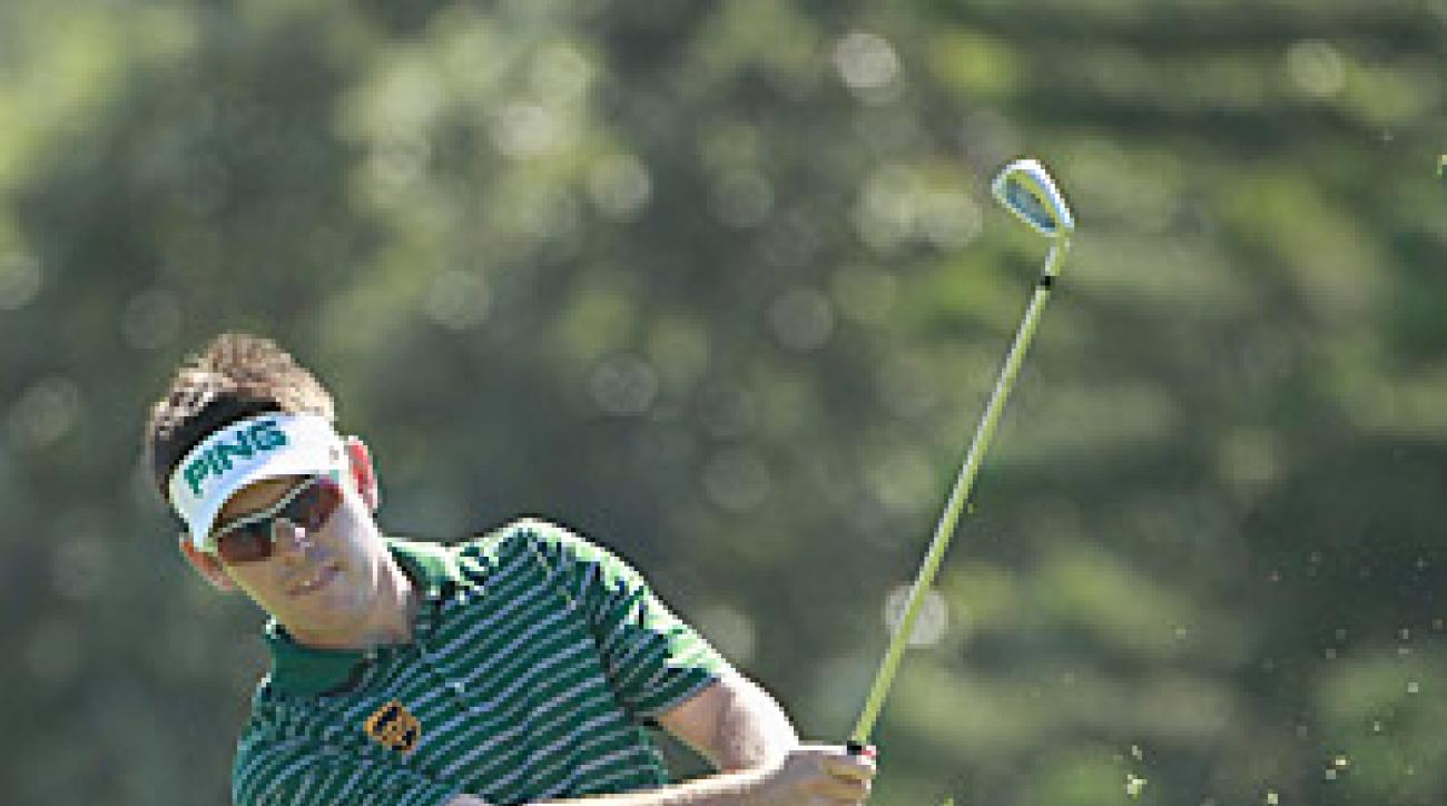 Louis Oosthuizen shot a 6-under 67 on Friday at the Africa Open.