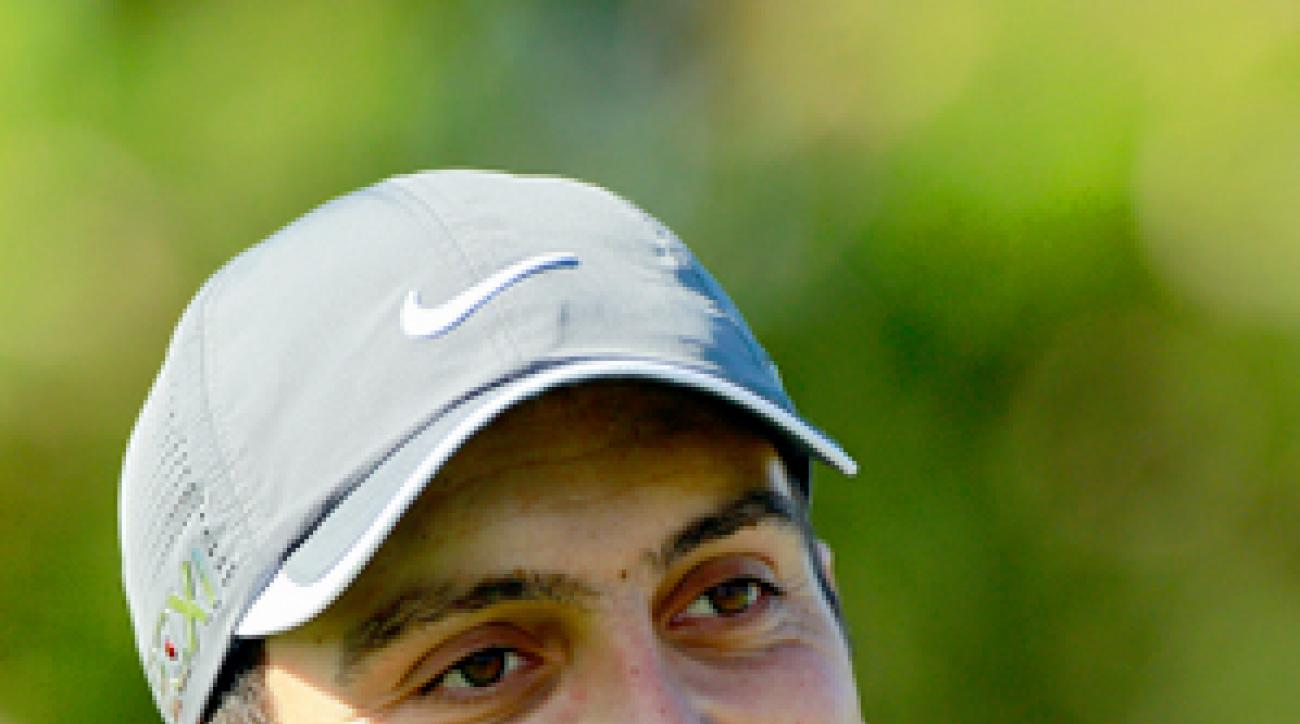 Francesco Molinari got into the field at Kapalua after winning the WGC event in China.