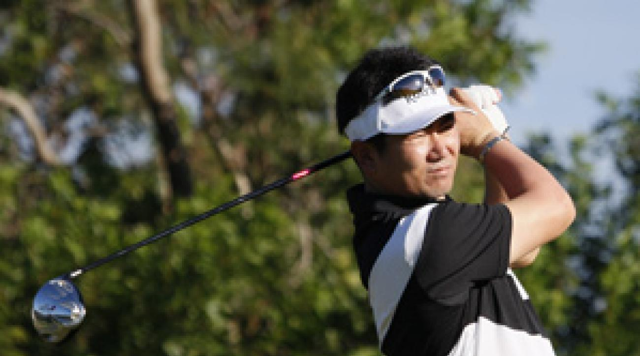 Y.E. Yang has been on a whirlwind tour since his win at the PGA Championship.