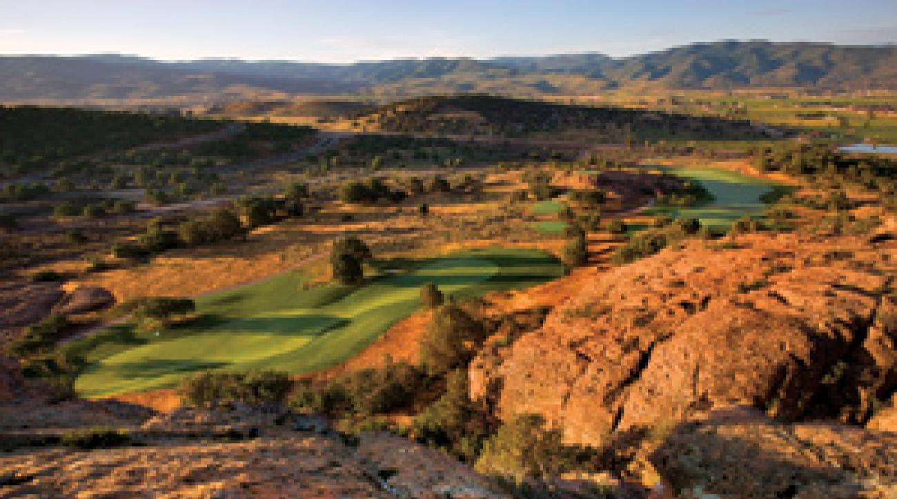 Red Ledges Golf Course in Heber City, Utah.