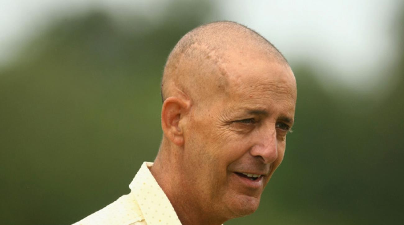 """<br /><br />                 ...who won back-to-back U.S. Opens with Curtis Strange, an Open Championship with John Daly, and has packed the sack for many more great players over the last three decades. """"Boats, 9D,"""" as he is affectionately known, has been battling brain cancer for the last two years, and is sorely missed by all. Boats, it's not the same without you. And we don't care if part of your brain is missing. (In fact, to be a caddie it's almost a prerequisite.) So get your ass back out here. We miss you. We love you."""