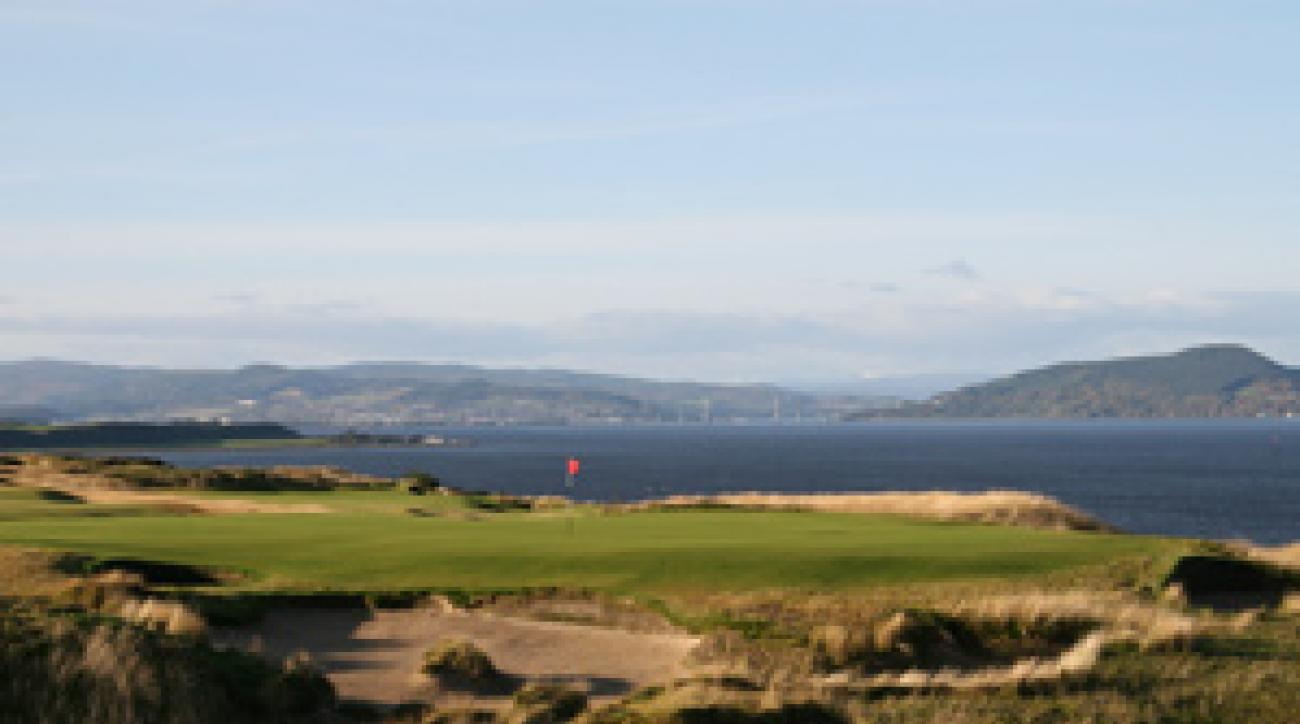 Castle Stuart Golf Links in Inverness, Scotland.