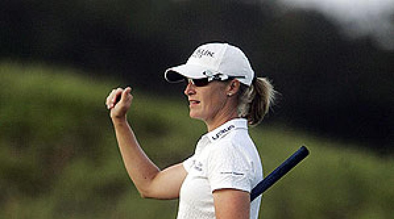 Janice Moodie shot an eight-under 64.
