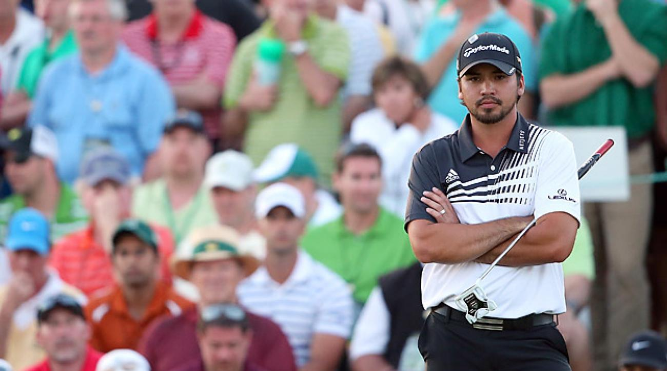 Jason Day shot a 68 in the second round to take a one-shot lead.