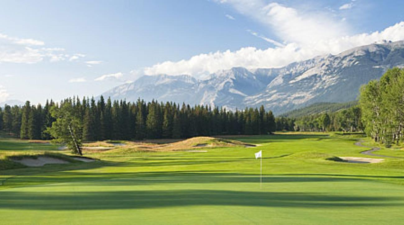 No. 10 at Fairmont Jasper Park Golf Course in Alberta, Canada.
