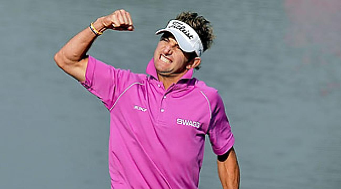 Jbe Kruger shot a 69 for a two-shot victory.