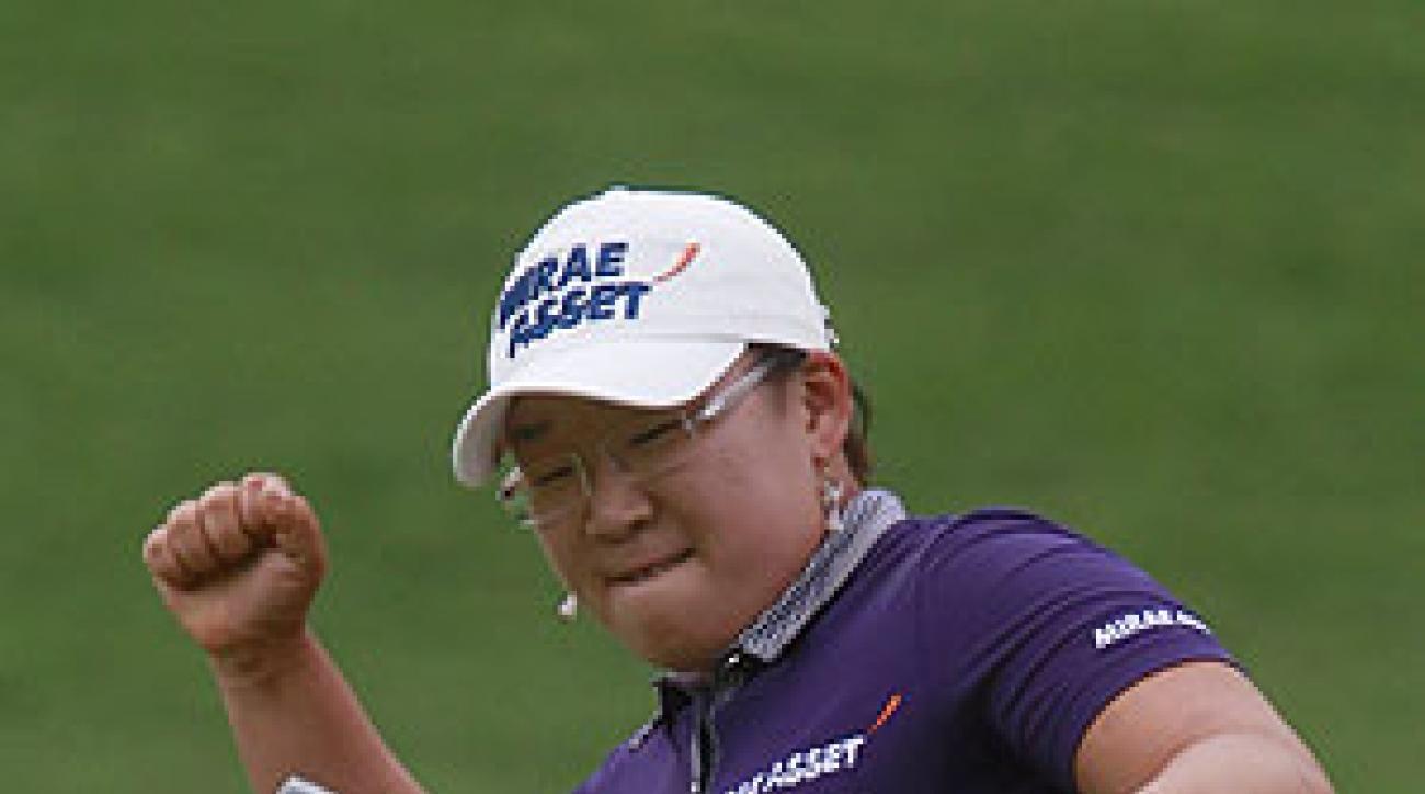 Ji Yai Shin shot a seven-under 64 on Sunday.