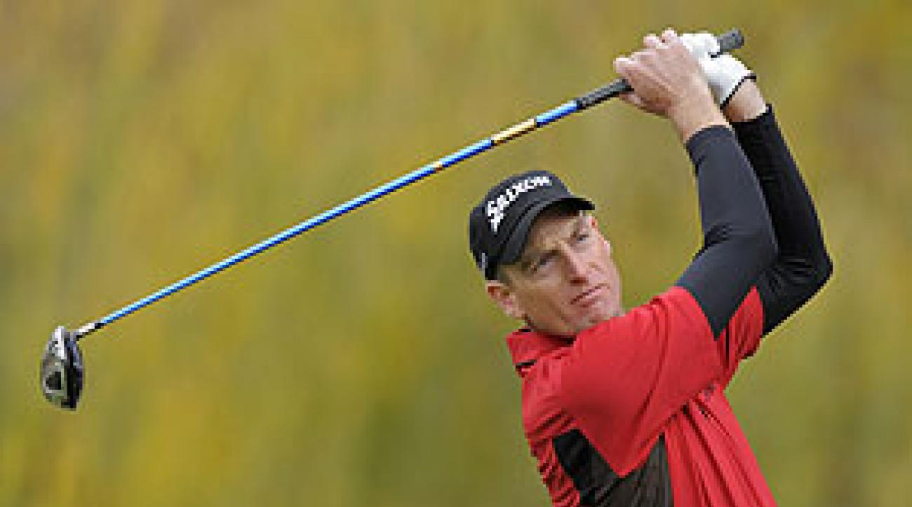 Jim Furyk shot a five-under 67 on Sunday.