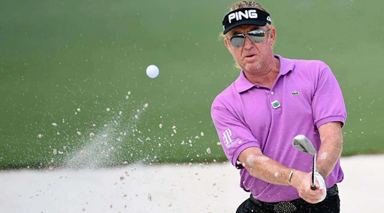 Miguel Angel Jimenez shot a two-under 70 on Saturday.