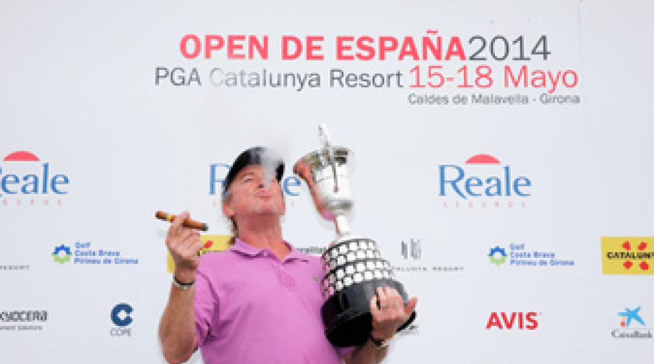 Miguel Angel Jimenez extended his own record as the oldest winner in European Tour history with his victory at the Spanish Open.