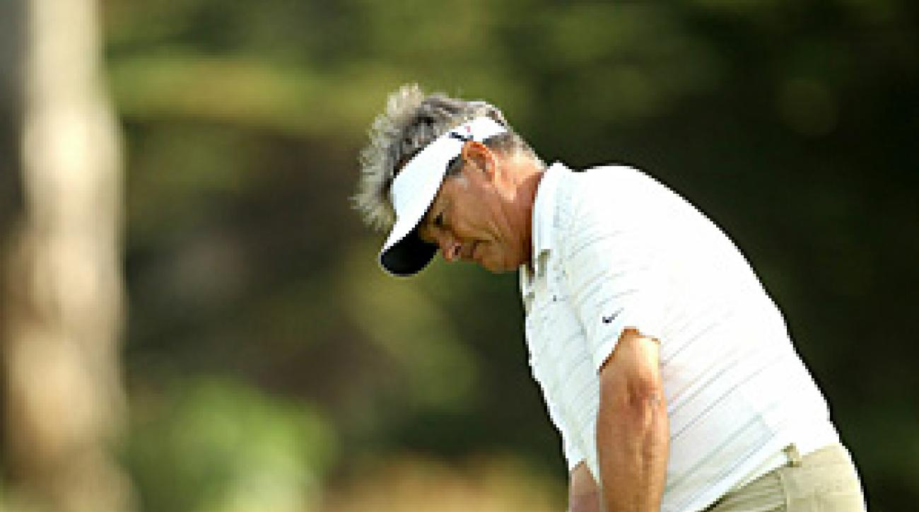 Cook won the Champions Tour finale last year at Sonoma Golf Club.