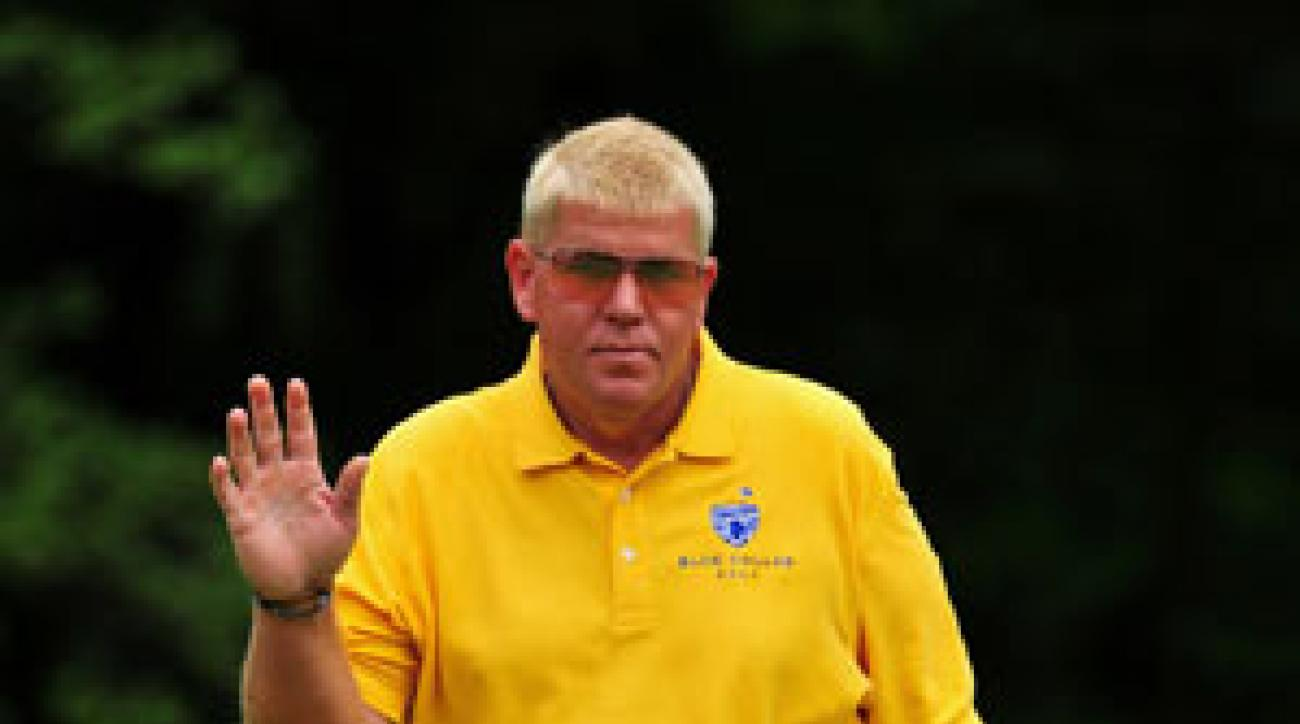 John Daly shot a five-under 66 in the final round.