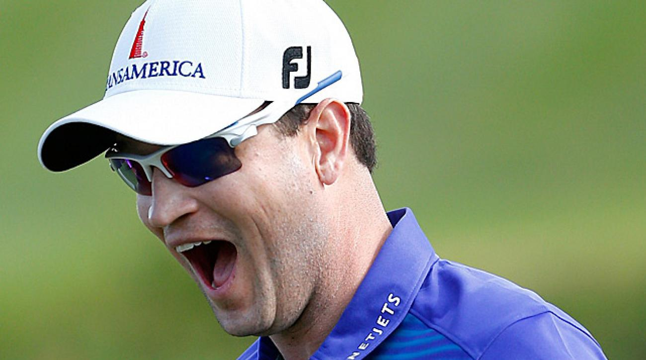 Zach Johnson is currently ranked No. 9 in the world rankings.