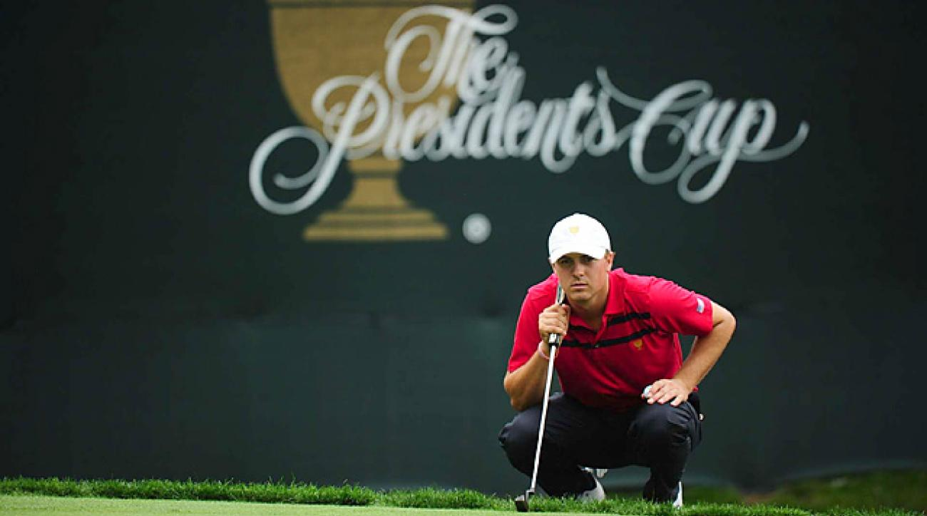 Spieth went 2-2 in his first Presidents Cup appearance.