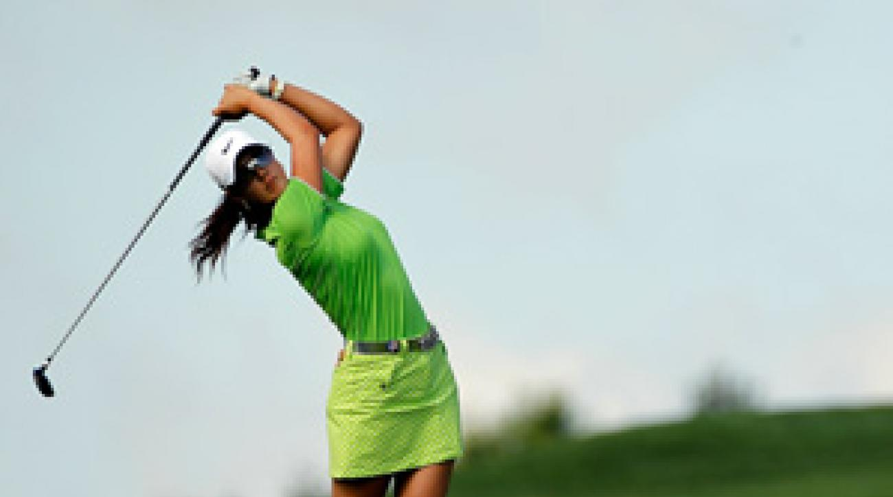 Michelle Wie shot rounds of 82-76 to miss the cut at Oakmont.