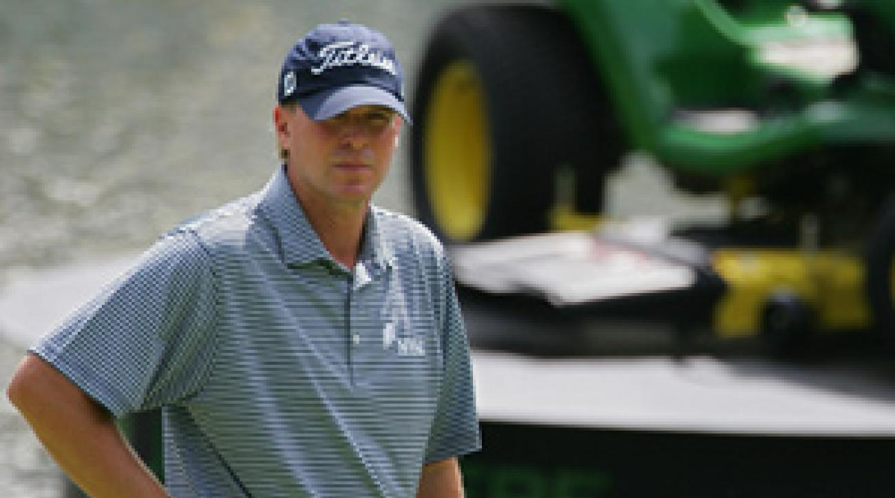 Steve Stricker made an eagle, nine birdies and a bogey on Saturday.
