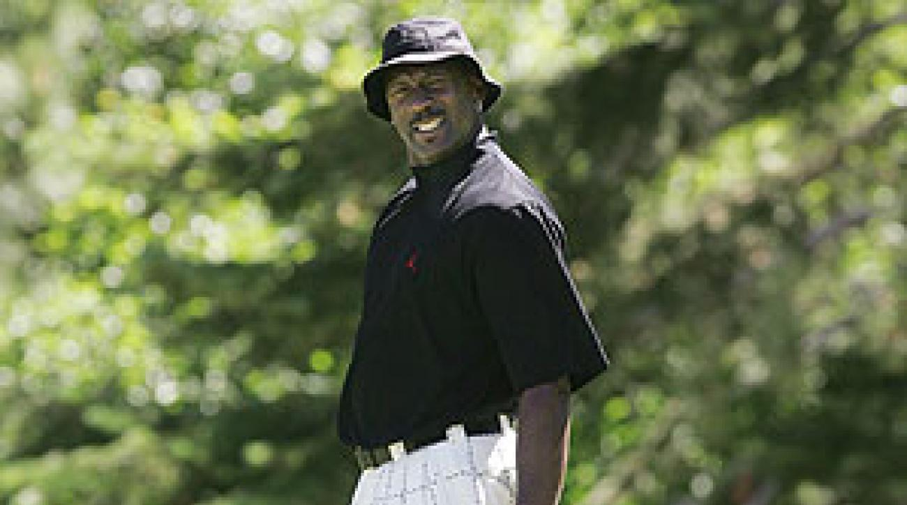 Michael Jordan is in Lake Tahoe for the celebrity tournament.