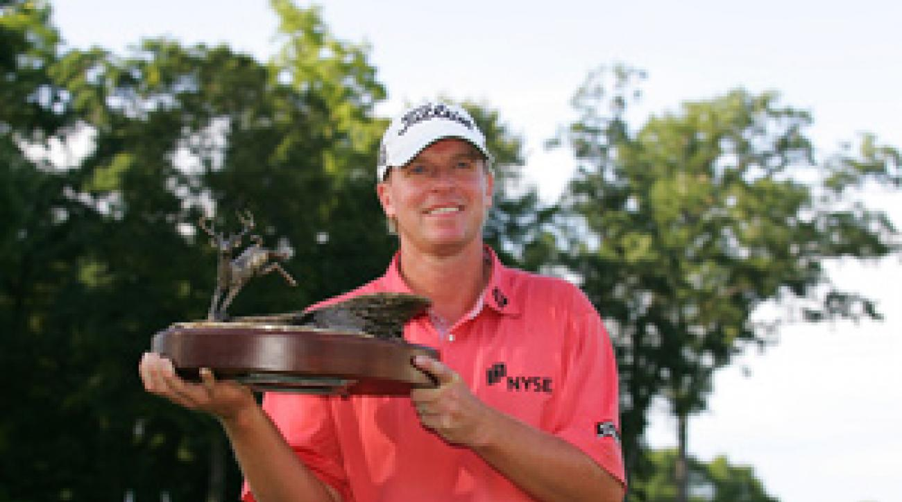 Steve Stricker won the John Deere on Sunday. Could an Open Championship be next?