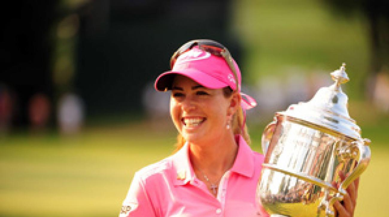 Paula Creamer won her ninth career title, and first major, on Sunday.