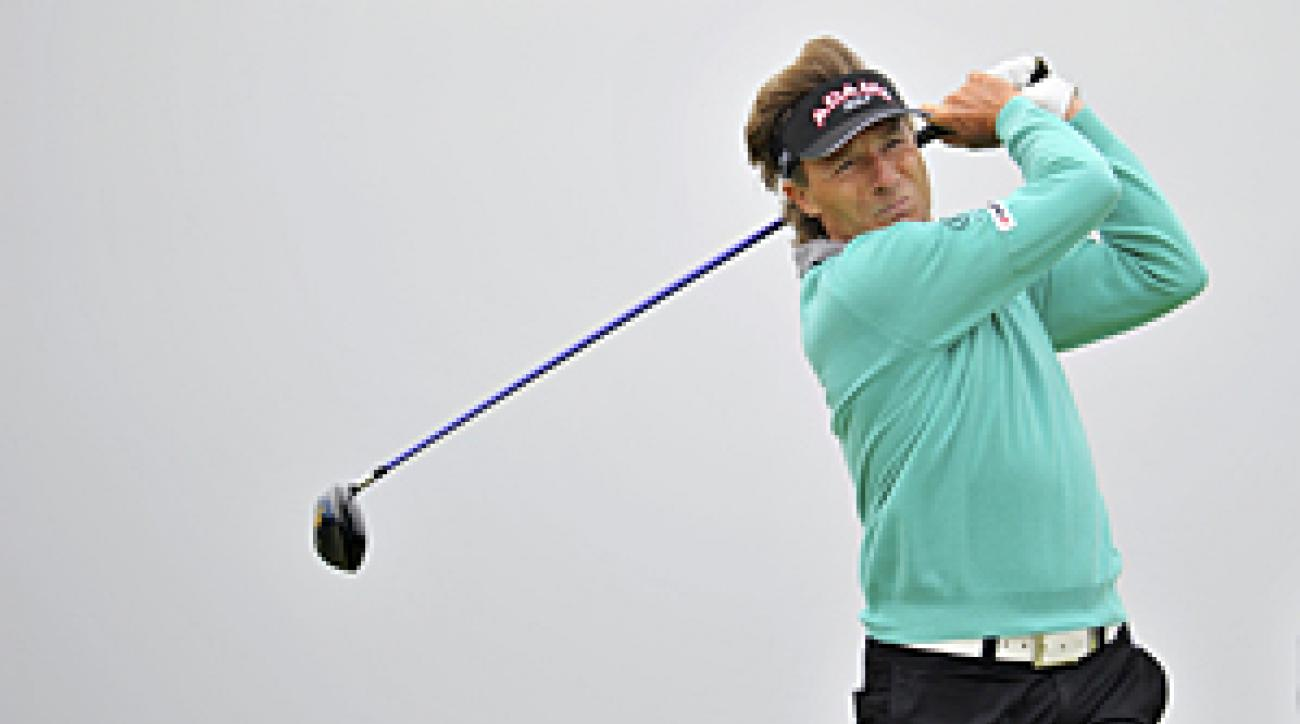 Bernhard Langer is trying to bounce back from thumb surgery.