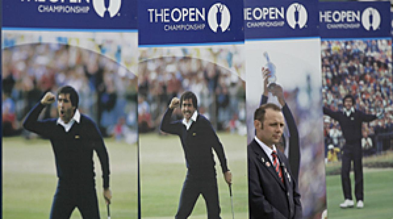 Seve Ballesteros won the Open three times in his career.