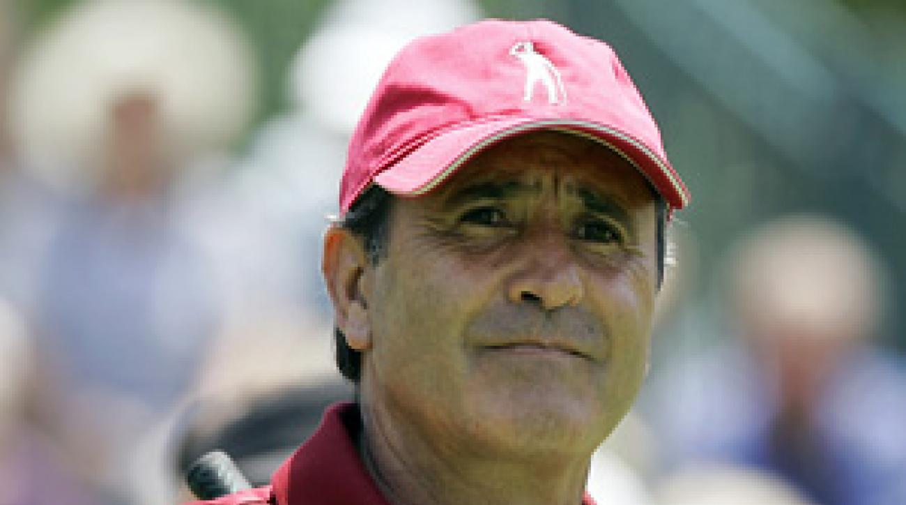 Seve Ballesteros in 2007