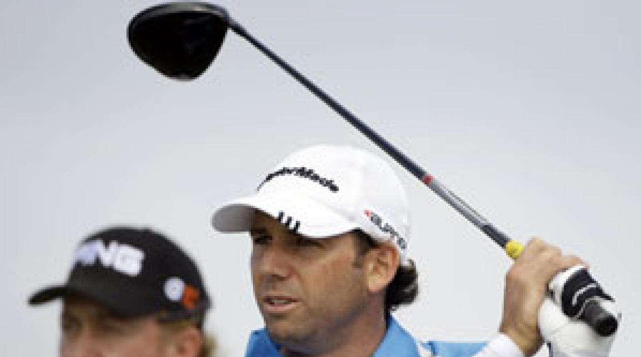Sergio Garcia lost the British Open last year in a playoff.