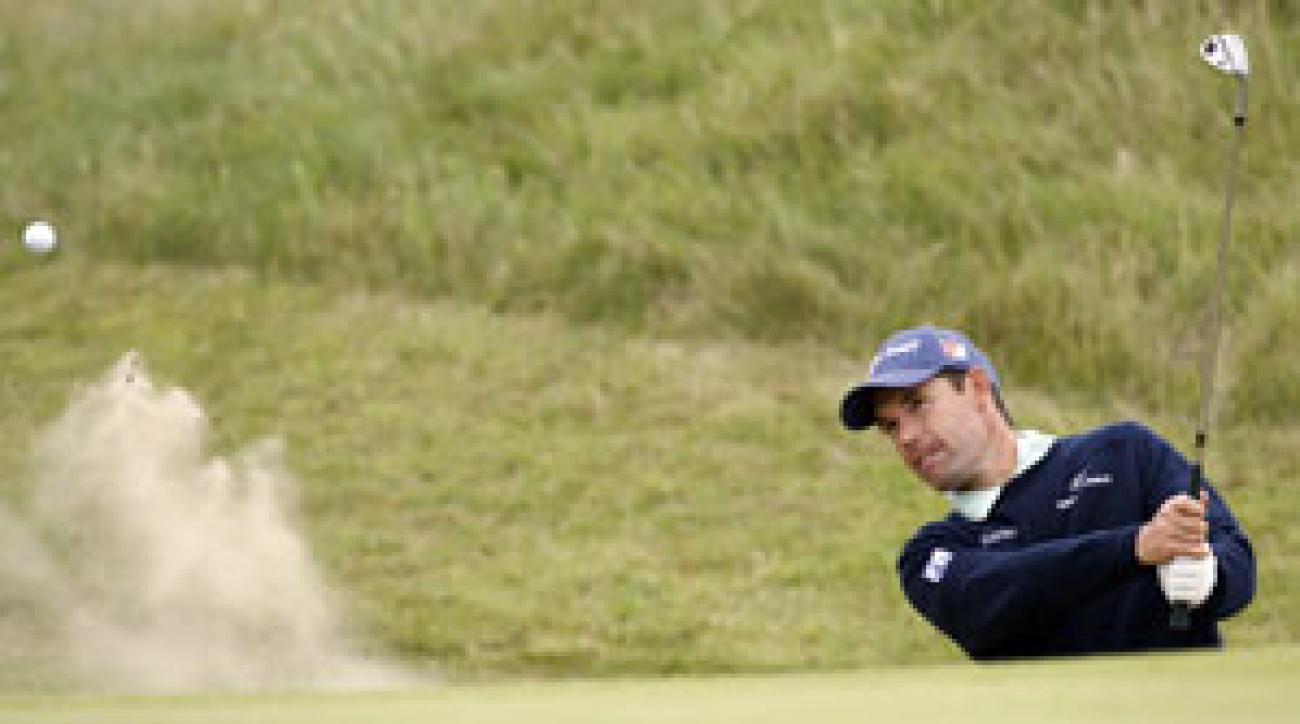 Padraig Harrington won the British Open last year at Carnoustie.