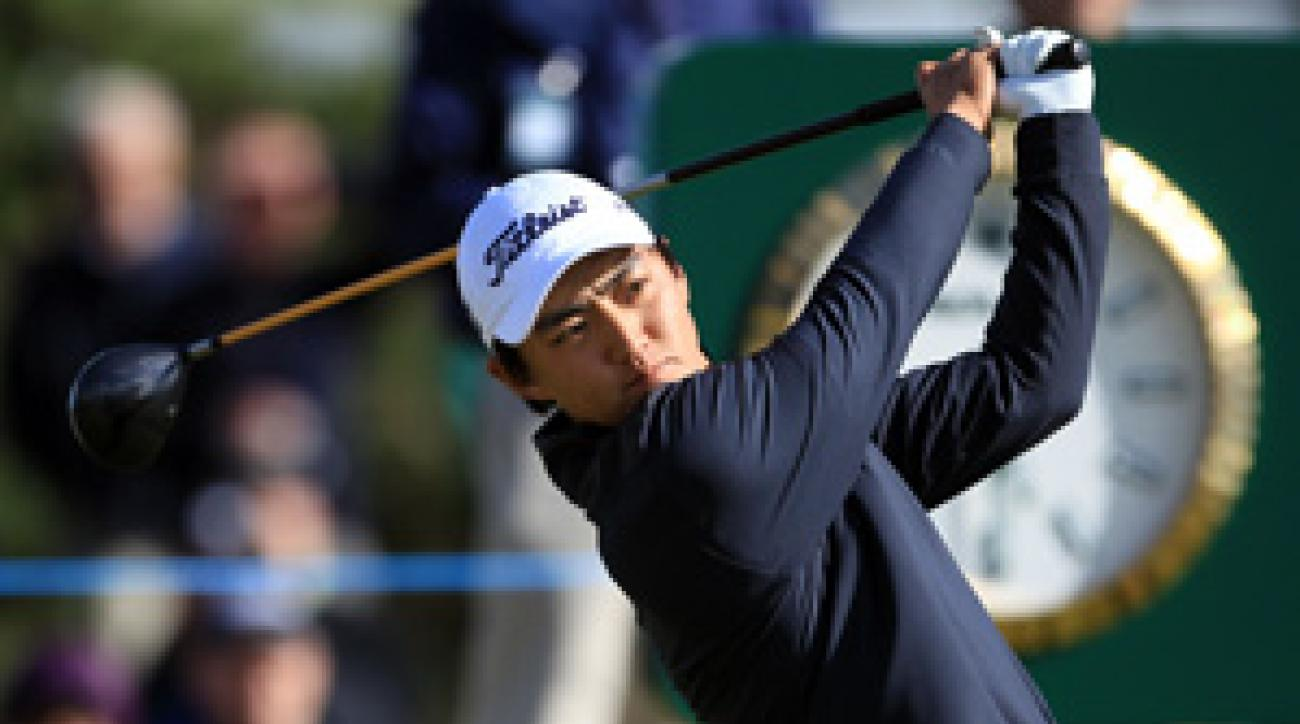 Jeong Jin qualified for the British Open by winning the British Amateur.